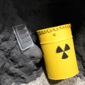 NORM waste with radioactive material