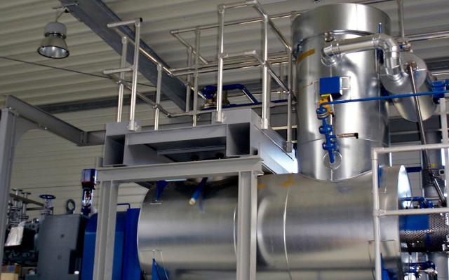 NORM waste treatment plant