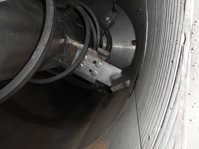 VacuDry® view inside - mixing shovels
