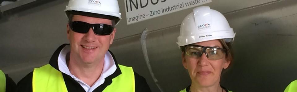 Inbetriebnahme unserer Anlage in Australien in vollem Gange
