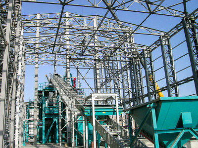 World's largest drilling mud treatment plant on the verge of commissioning