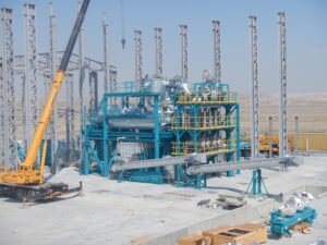hazardous waste treatment for oil and gas industry