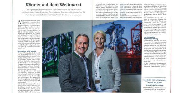 IHK Magazine - Bavarian Export Prize