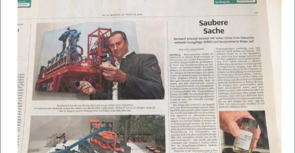 Süddeutsche Zeitung - A clean thing