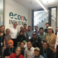 Delegation from Indonesia visits econ industries to learn about zero industrial waste