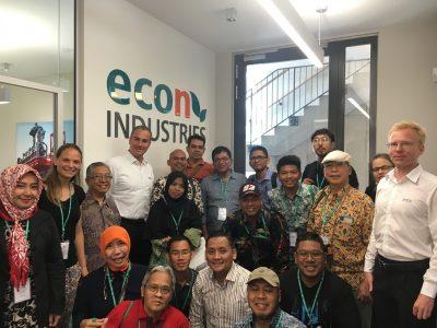 Indonesische Delegation zu Gast bei econ