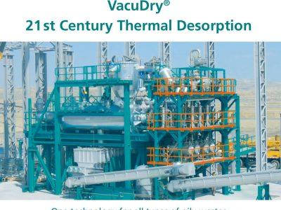 Beste Technologie zur Behandlung von öligen Abfällen im Mittleren Osten - VacuDry® vs. Drehrohr