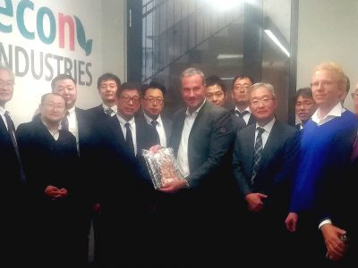 Japan Waste Management Association visits econ industries