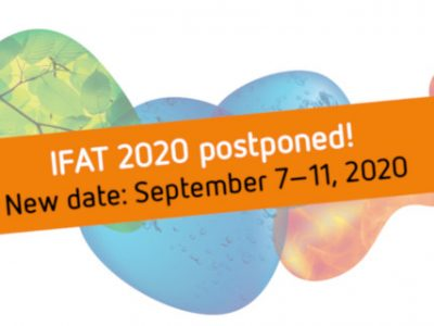 IFAT 2020 - Postponement to September