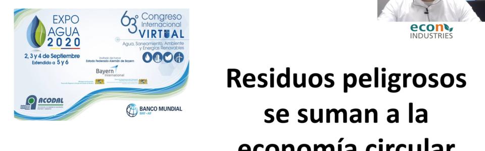 New Online Presentation: Hazardous Waste meets Circular Economy