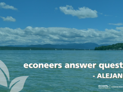 Unser econeer Alejandro beantwortet FAQs