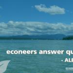我们的econeer Alejandro回答常见问题