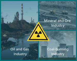 NORM waste from different industries